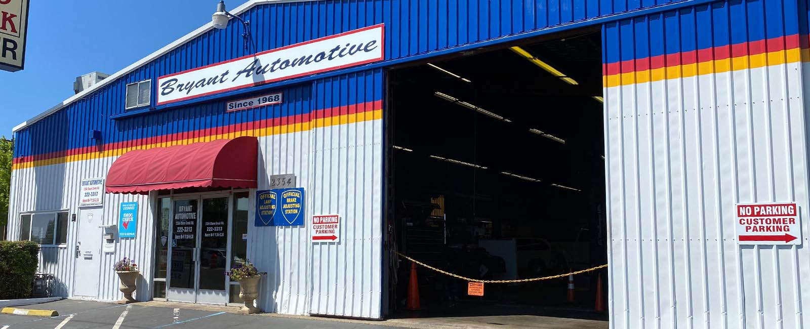 Bryant Automotive Shop